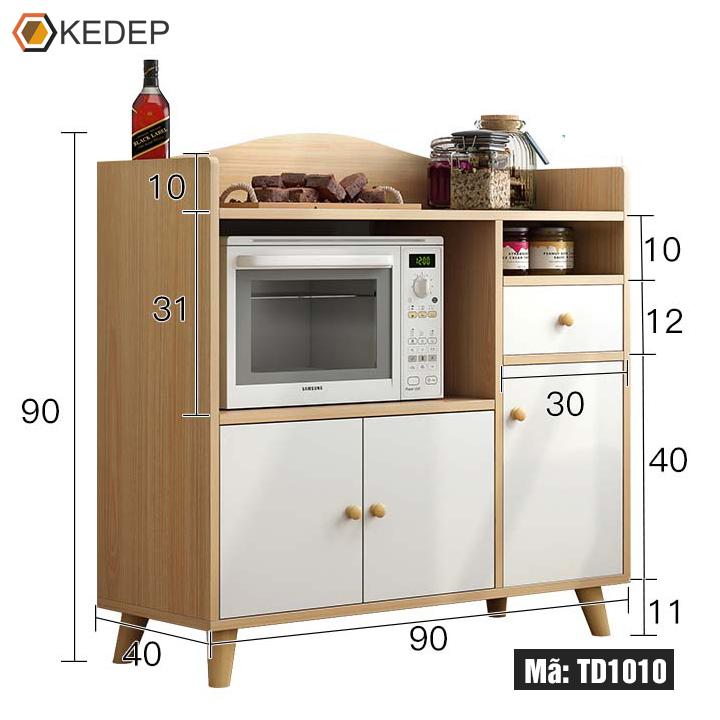 Kệ bếp gỗ đa năng TD1010