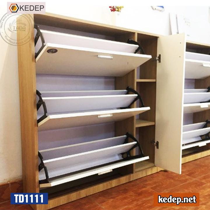TD1111 Màu Trắng kết hợp vân gỗ
